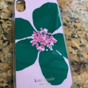 iPhone XR Kate Spade case